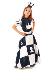 37Костюм шахматной королевы для девочки